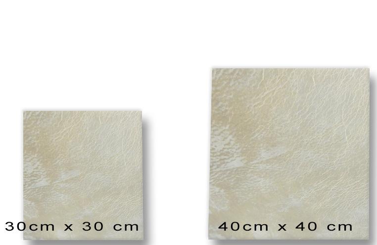 Standard Lederfliesen Format