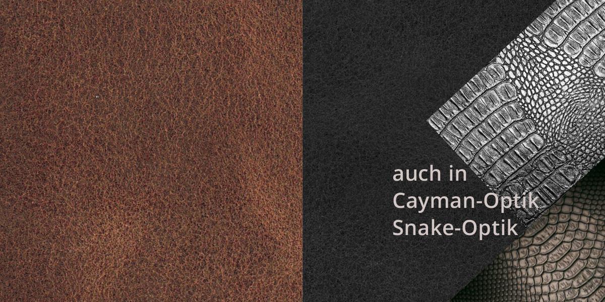Kollektion STYLE Lederboden und Lederfliesen für die Wand