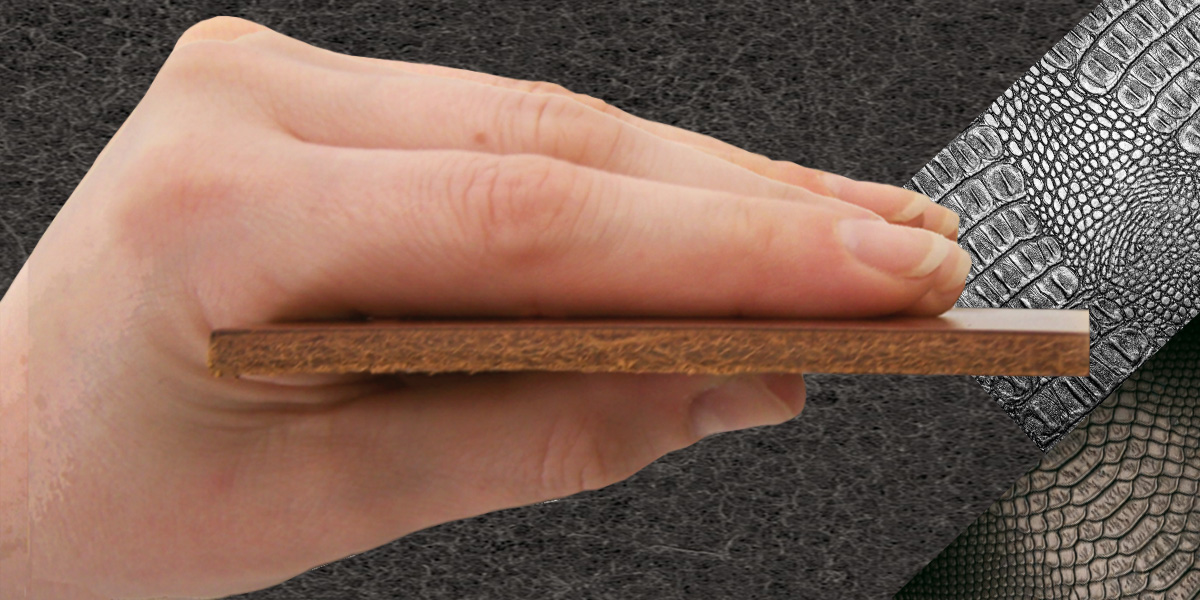 """Leder """"PUR"""" STYLE in einer Stärke bis 2.6 mm"""