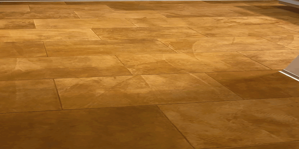 Velour Lederboden GOLDEN BROWN Masterbedroom