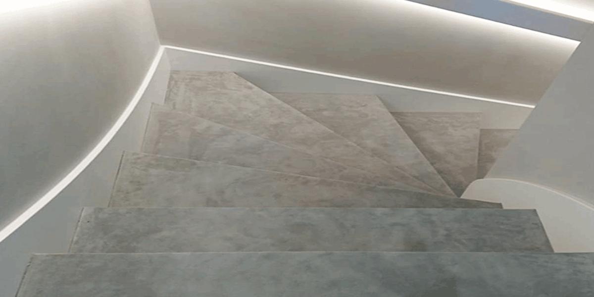 Velour Leder Treppe